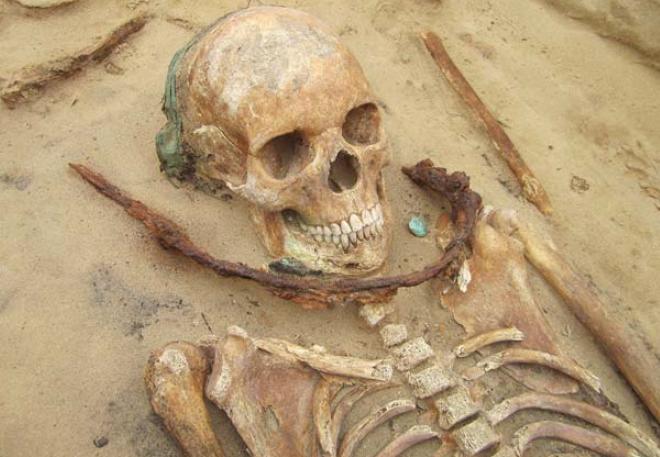 Les vampires, l'archéologie et les médias